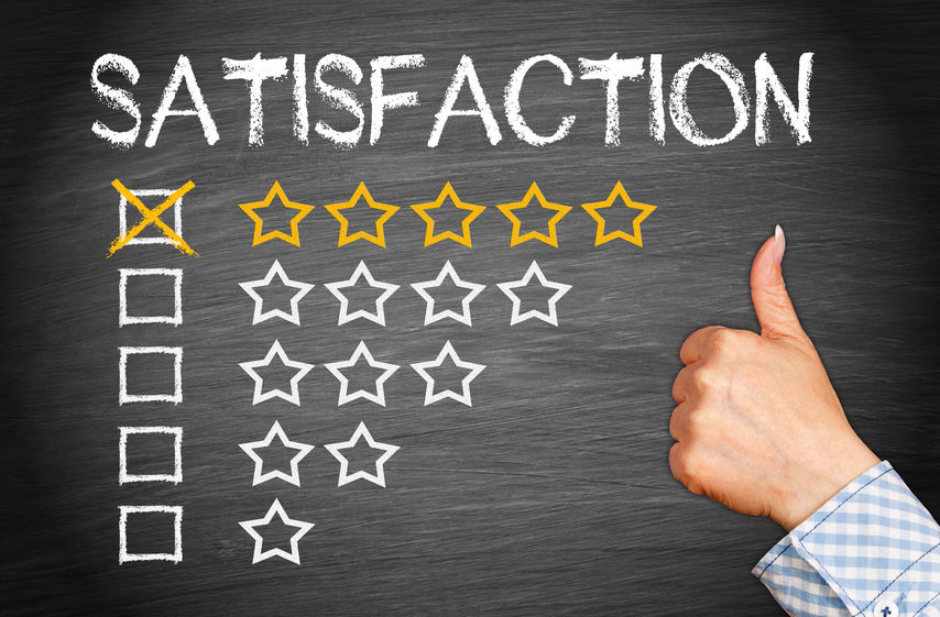 roofing contractor total satisfaction - five stars